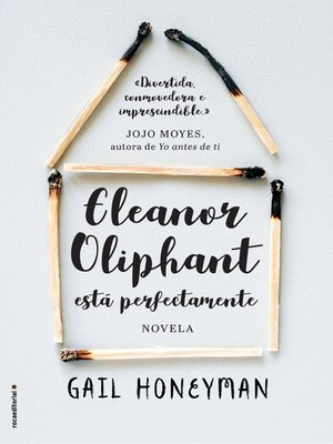 cover image of Eleanor Oliphant está perfectamente